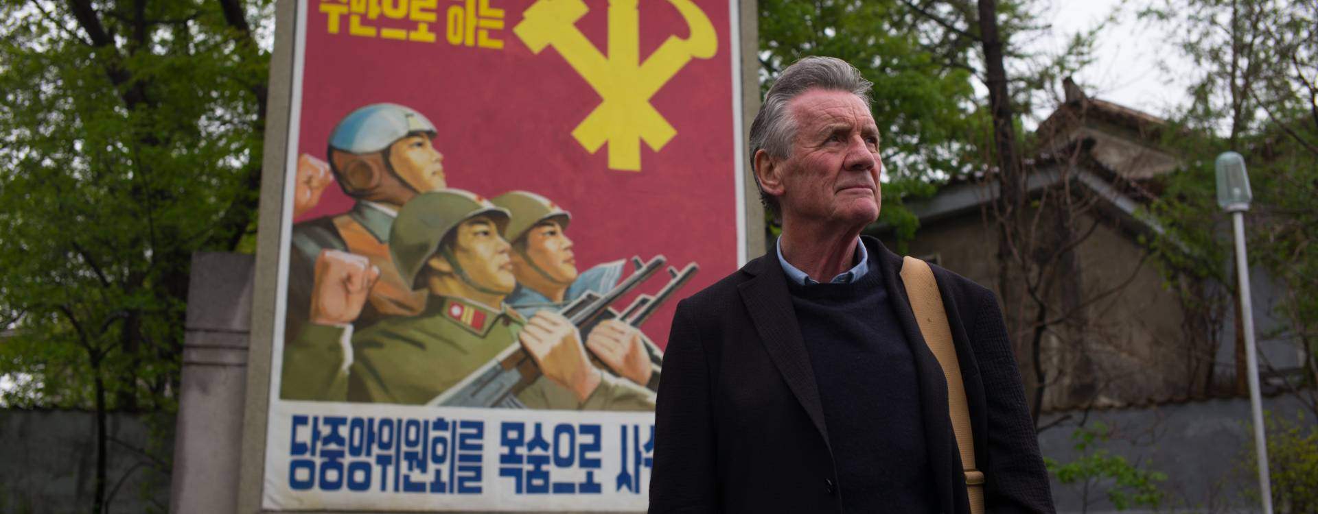 Michael Palin In North Korea-Banner