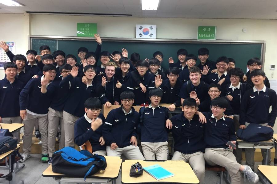 School Swap: Korea Style