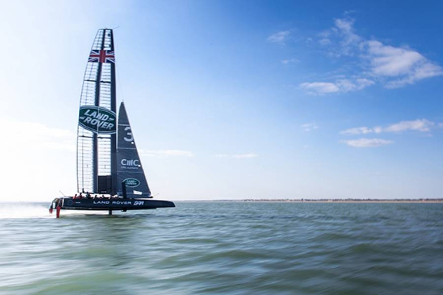 Britain's America's Cup Challenge 4K