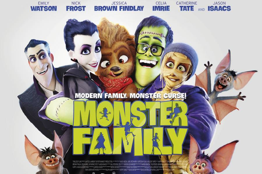 'Monster Family' set to be UK's widest ever day-and-date release